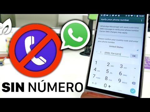 Cómo tener Whatsapp en un celular sin tarjeta SIM