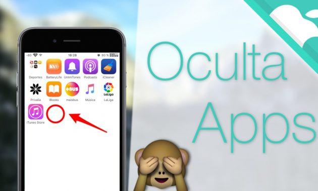 Cómo esconder apps en Iphone IOS 11