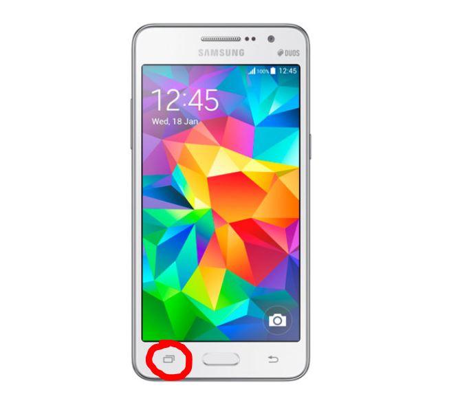 Esconder aplicaciones en Samsung Grand Prime