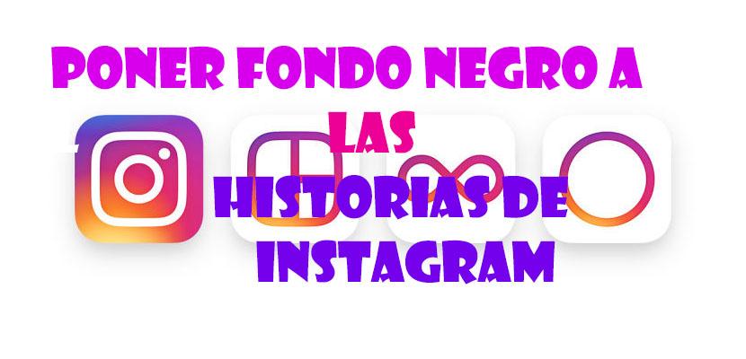 Cómo poner un fondo de color en la historia de Instagram