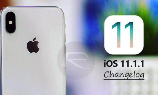 Novedades e información del iOS 11.1.1