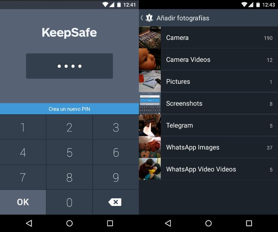 Aplicación para ocultar fotos en Samsung Galaxy A5