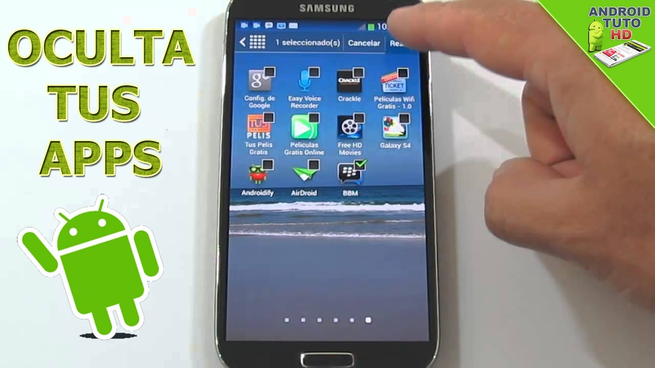 Cómo ocultar aplicaciones en Samsung J2 o J2 Prime