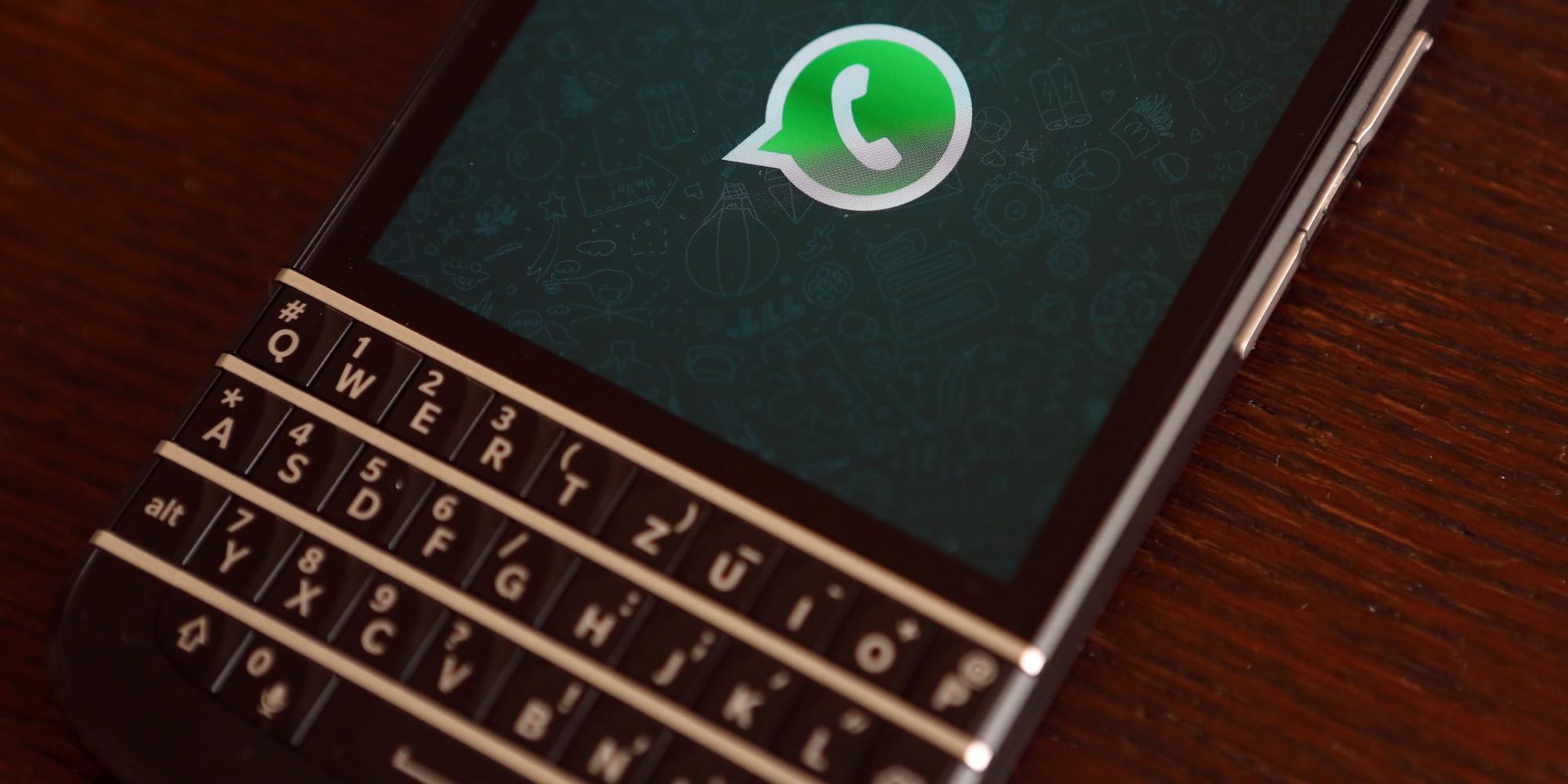 ▷▷ Descargar Whatsapp para Blackberry 2018 ✅✅ - ¡FÁCIL!