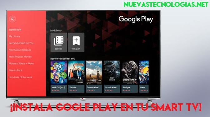 bajar play store para samsung smart tv